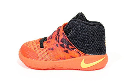 3ce90fd591aa Nike Toddler s Kyrie 2 Td Crimson Red Orange Shoes 827281 680 Size 4c