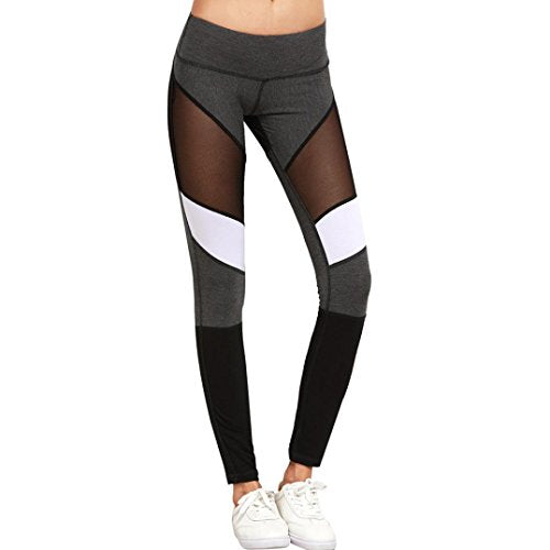 453bf3fba9 NewKelly Women Sport Pants High Waist Workout Leggings Fitness Trousers for YOGA  Running