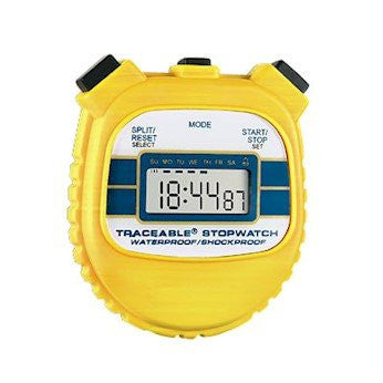 Cole Parmer Waterproof/Shock Resistant Stopwatch 94460 55