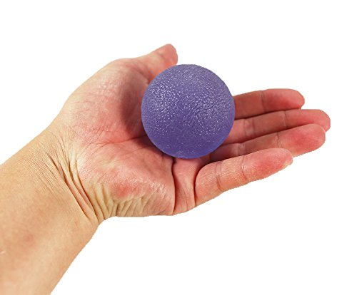 ResultSport Therapy Exercise Gel Balls - Hand Finger Wrist Arthritis - Set of 2 - Firm/Soft