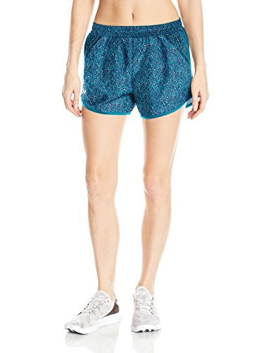 Under Armour Women's Fly By Printed Shorts,True Ink (918)/Reflective, X Small