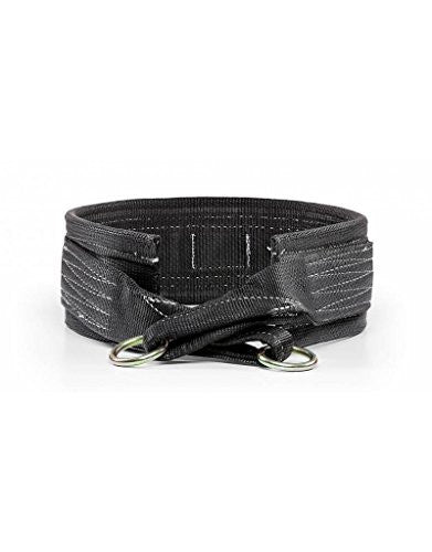 Spud Black Belt Squat Large Belt For Weight Lifting Strength Training And Power Lifting