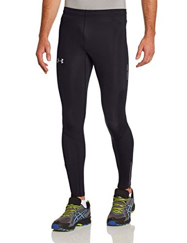 Under Armour Run Compression Tight   X Large   Black