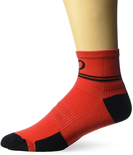 Pearl Izumi Elite Low Sock, Rogue Red Diffuse, Medium