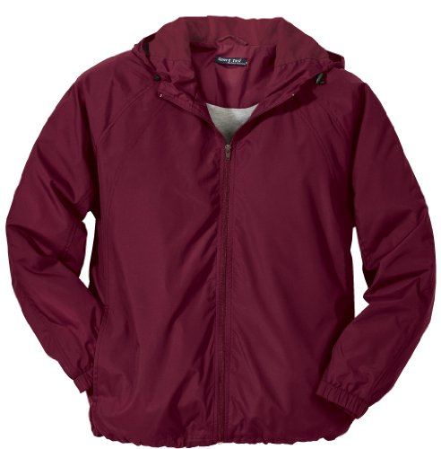Sport Tek   Hooded Raglan Jacket. Jst73   Xxx Large   Maroon [Apparel]