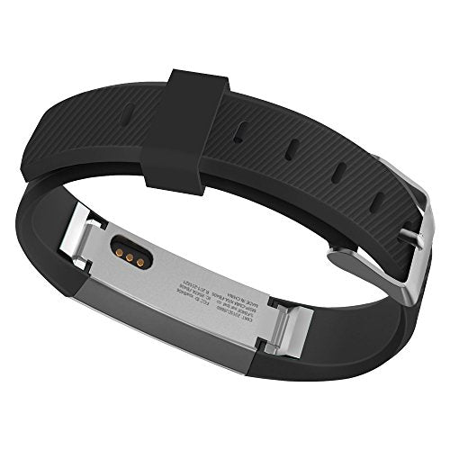 Umtele Compatible For Fitbit Alta Bands,Newest Adjustable Soft Sport Strap Wristband With Metal Buck