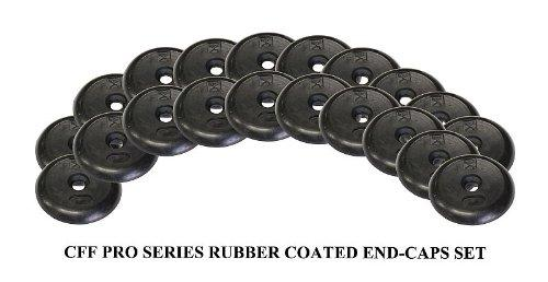 CFF 20 Pack Pro Style Dumbbell Rubber End Cap