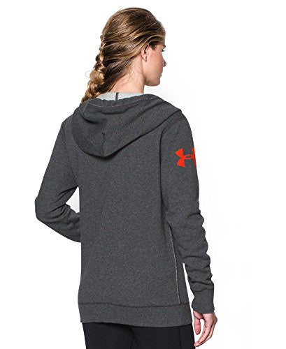 Under Armour Women's Favorite Fleece Hoody Heather 1264719 091 Xs