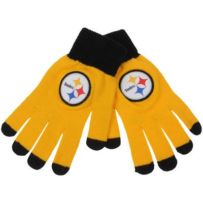 Pittsburgh Steelers Solid Knit Gloves