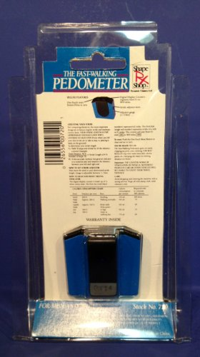 The Fast-Walking Pedometer
