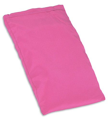 YogaAccessories Small Silk Eye Pillow (Unscented) - Lotus Pink
