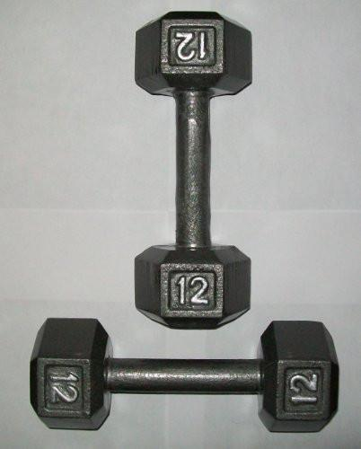Apollo 12 Lb. Hex Dumbbells (Pair)