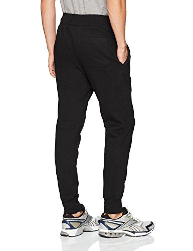 Champion Life Men's Reverse Weave Jogger, Black/Champion Script/C Logo, 2 Xl