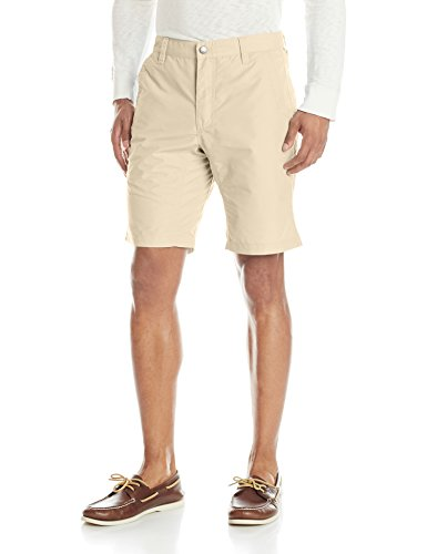Mountain Khakis Men's Poplin Short Slim Fit, Khaki, 40 x 8-Inch
