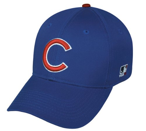 Chicago Cubs Youth (Ages Under 12) Adjustable Hat Mlb Officially Licensed Major League Baseball Repl