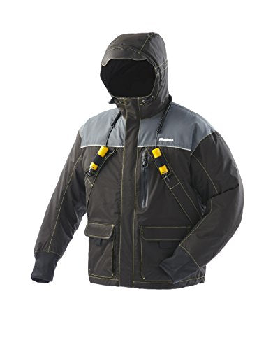 Frabill 2504021 I3 Jacket, Black, Large