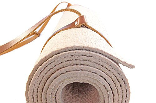Oopsmark Leather Yoga Mat Strap And Picnic Blanket Holder