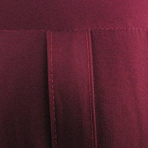 Zafu Meditation Cushion (Burgundy), Kapok Filled