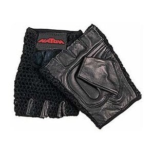 Hatch All Purpose Padded Mesh Wheelchair Gloves   Large Color: Black