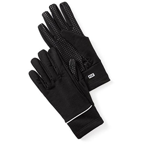 Smart Wool Ph D Hy Fi Training Gloves (Black) X Small