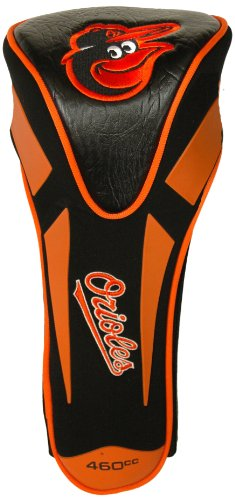 Team Golf MLB Baltimore Orioles Golf Club Single Apex Driver Headcover, Fits All Oversized Clubs, Truly Sleek Design