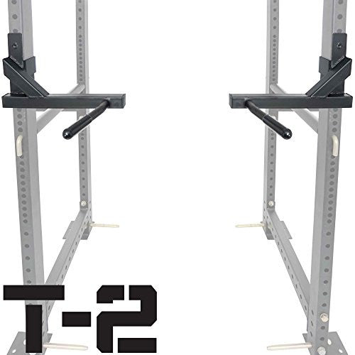 Titan T 2 Series Dip Bar Attachment For Power Rack Strength Training Workout