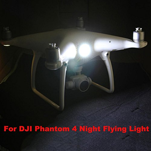 Nesee For DJI Inspire 1 Searching Light Accessory Night Cruise Cree T6 LED Lamp Light (White)