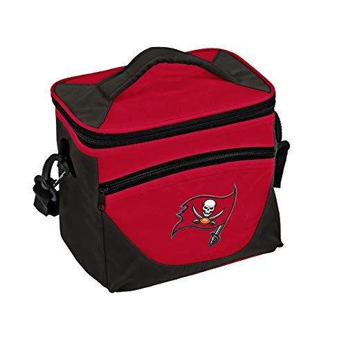 Logo Brands NFL Tampa Bay Buccaneers Halftime Lunch Cooler, One Size, Navy