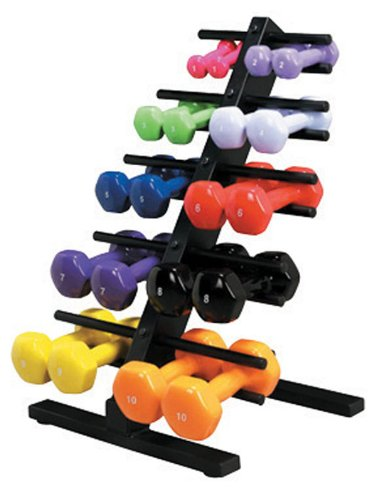 Vinyl-Coated Dumbell Weights
