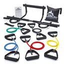 Image of Black Mountain Products Pull Up Bar And Resistance Bands