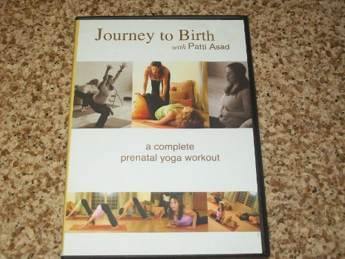 PATTI ASAD DVD JOURNEY TO BIRTH A COMPLETE PRENATAL YOGA WORKOUT by ASAD