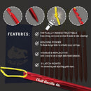 Image of Chill Gorilla 10X Tent Stake. Heavy Duty Lightweight Strong Aluminum Alloy pegs for Camping, rain ta