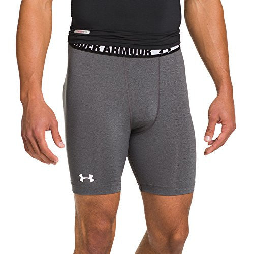 Under Armour Men's Heat Gear Sonic Compression Shorts Xx Large Carbon Heather