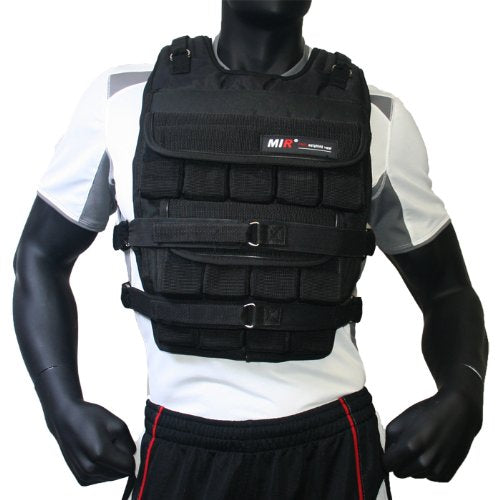 Mirã'â®   90 Lbs Pro (Long Style) Adjustable Weighted Vest
