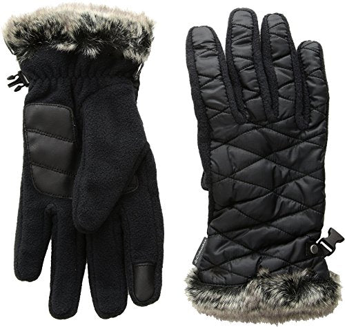 Columbia Women's Heavenly Gloves, Black, X-Large