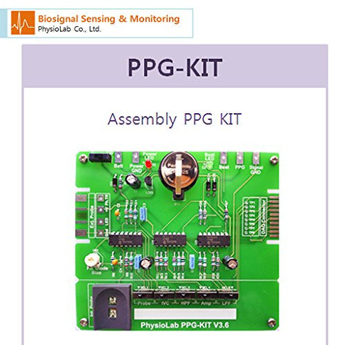 [Physio Lab] Assembly Biosignal Kit Series/ Ppg Kit (Photo Plethysmogram)