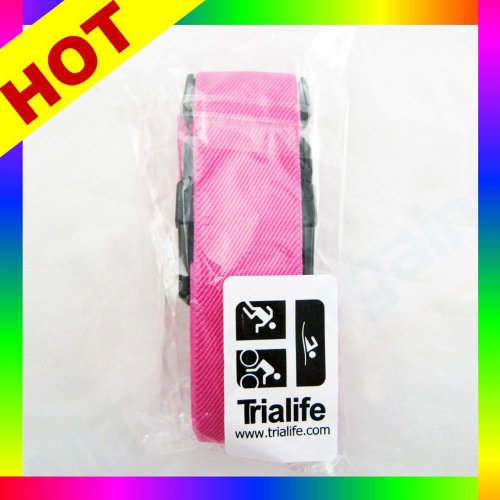 Lightweight Running Number Belt Cycling Marathon Triathlon Race Mens Womens Pink