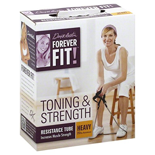 Forever Fit by Denise Austin, Resistance Tube, Toning & Strength, Heavy
