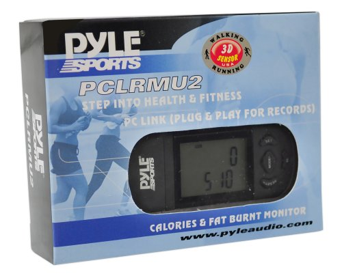 Smart Step Counter Digital Pedometer   Walking Running Sport Step Tracker W/ 3 D Sensor, Lcd Screen,