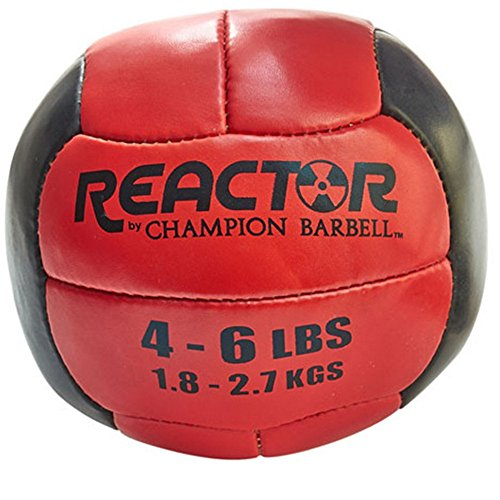 Champion Barbell Medicine Ball, 4 6 Lb.   Red