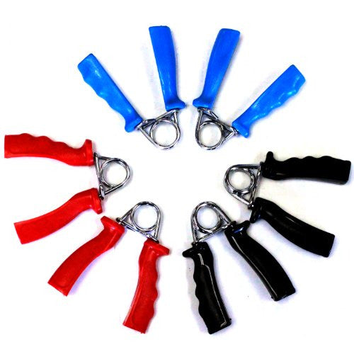 Hand Grips  Set Of 3 Pairs (Med, Heavy, Extra Heavy Tension)
