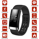 Image of ASOON Fitness Tracker,Bluetooth Smart Band Fitness SmartBracelet/Heart Rate Monitor/Sleep Monitor