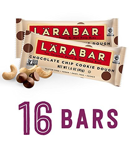 Larabar Chocolate Chip Cookie Dough Box of 16 by Larabar