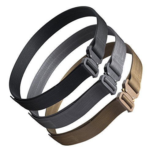 "Blue Alpha Gear 1.5"" Cobra EDC Belt (Wolf Gray, 36 (Pant Size))"