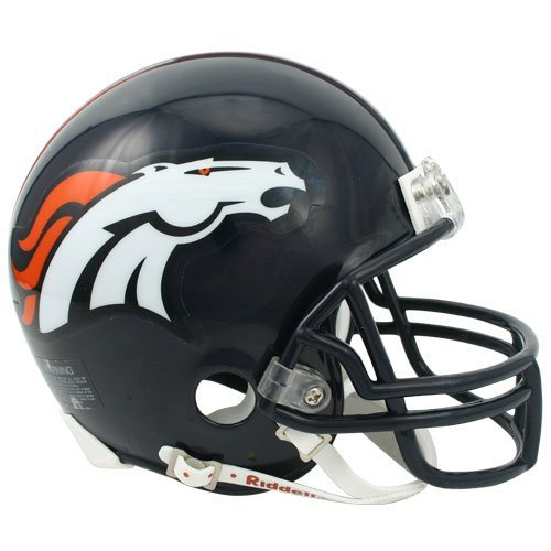 NFL Riddell Denver Broncos Mini-Replica Helmet by Riddell