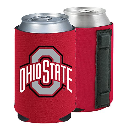 Magnetic Kolder Kaddy NCAA Can Cooler Coolie, One Piece (Ohio State Buckeyes)