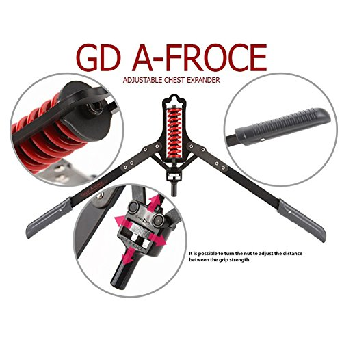 Jisam Trade Gd A Force Chest Toner Durable Iron For Muscle Adjustable Expender 8 To 24kg
