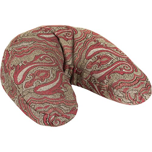 Hugger Mugger V Shaped Yoga Cushion   Vintage Currant