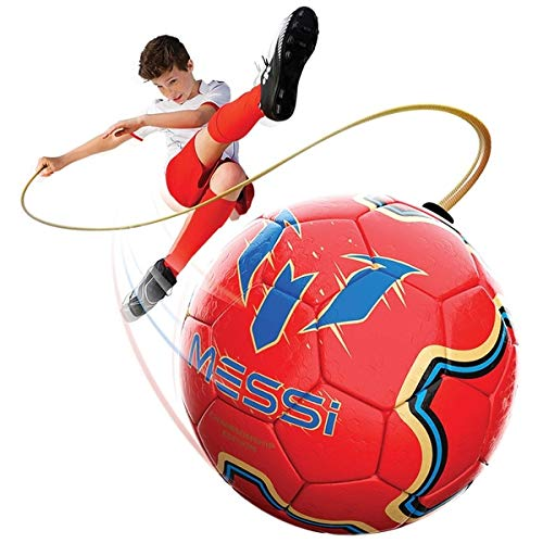 Messi Training System Kids Training Soccer Ball   Size 3 Youth Smart Football With Tether For Juggli