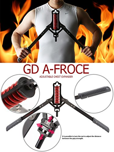GD A-Force Chest Toner Adjustable Expender 8 to 24kg Durable Iron for Muscle